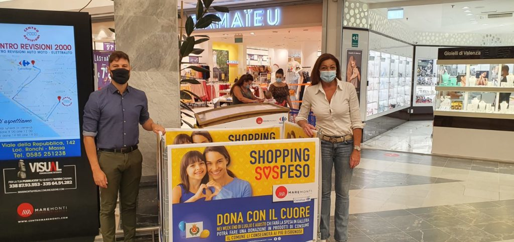 Inaugurazione Shopping SOSpeso Massa